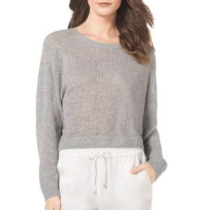 - 100% Cashmere Michael Kors Cropped sweater